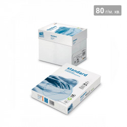 Папір А-4 80 г/м. (5 пачок в коробці)